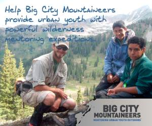 Big City Mountaineers - Banner Ad