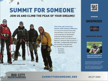 Summit For Someone Campaign