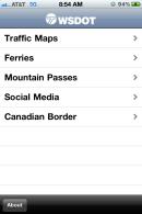 WSDOT Mobile App