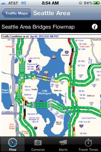 Seattle Area Flowmap